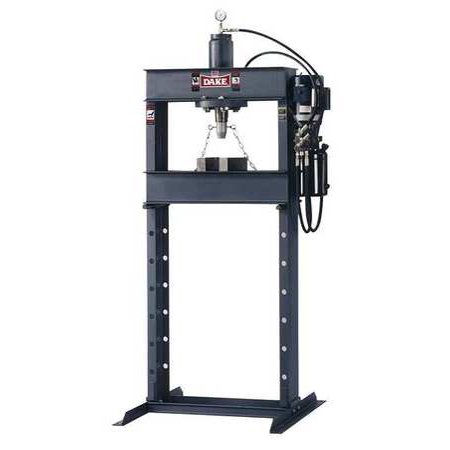 DAKE CORPORATION 909215 Hydraulic Press, 25 t, Electric Pump, 88 In