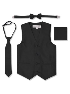 Johnnie Lene Boys Formal Dupioni Tuxedo Vest Set JL34