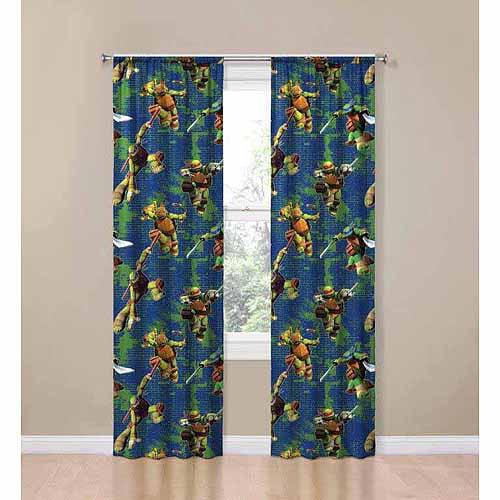 Teenage Mutant Ninja Turtles Room Darkening Panel