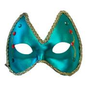 Mardi Gras Eye Costume Mask: Green