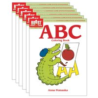 Boost ABC Coloring Book Grades PK-K, Pack of 6