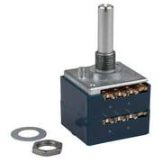 ALPS 20KAX2 20K Ohm Audio Taper Stereo Potentiometer 6mm Shaft