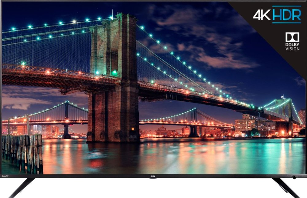 "Refurb TCL 55R615 55"" 4K Smart LED Roku UHDTV"