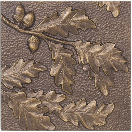 Oak Leaf Wall Decor, Antique (Antique Copper Outdoor Wall)