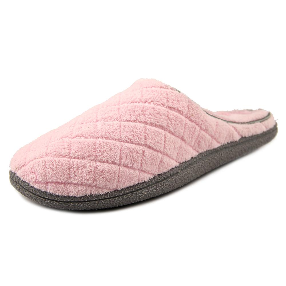 Dearfoams Size Xlarge Womens Quilted Microfiber Terry Clog