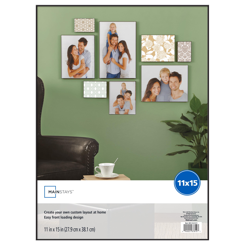 Mainstays 11x15 Black Format Frame Walmartcom