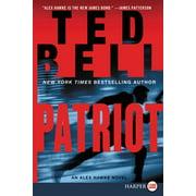 Alex Hawke Novels: Patriot: An Alex Hawke Novel (Paperback)(Large Print)