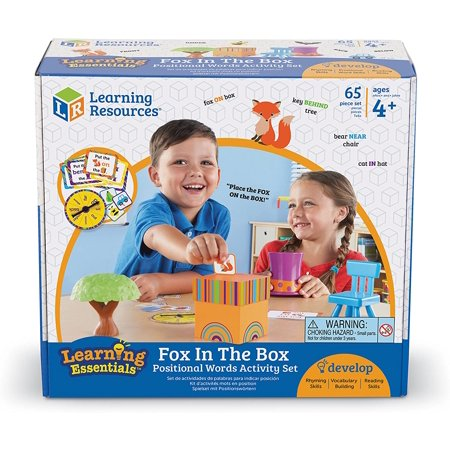Learning Resources Fox In The Box Position Word Activity ...