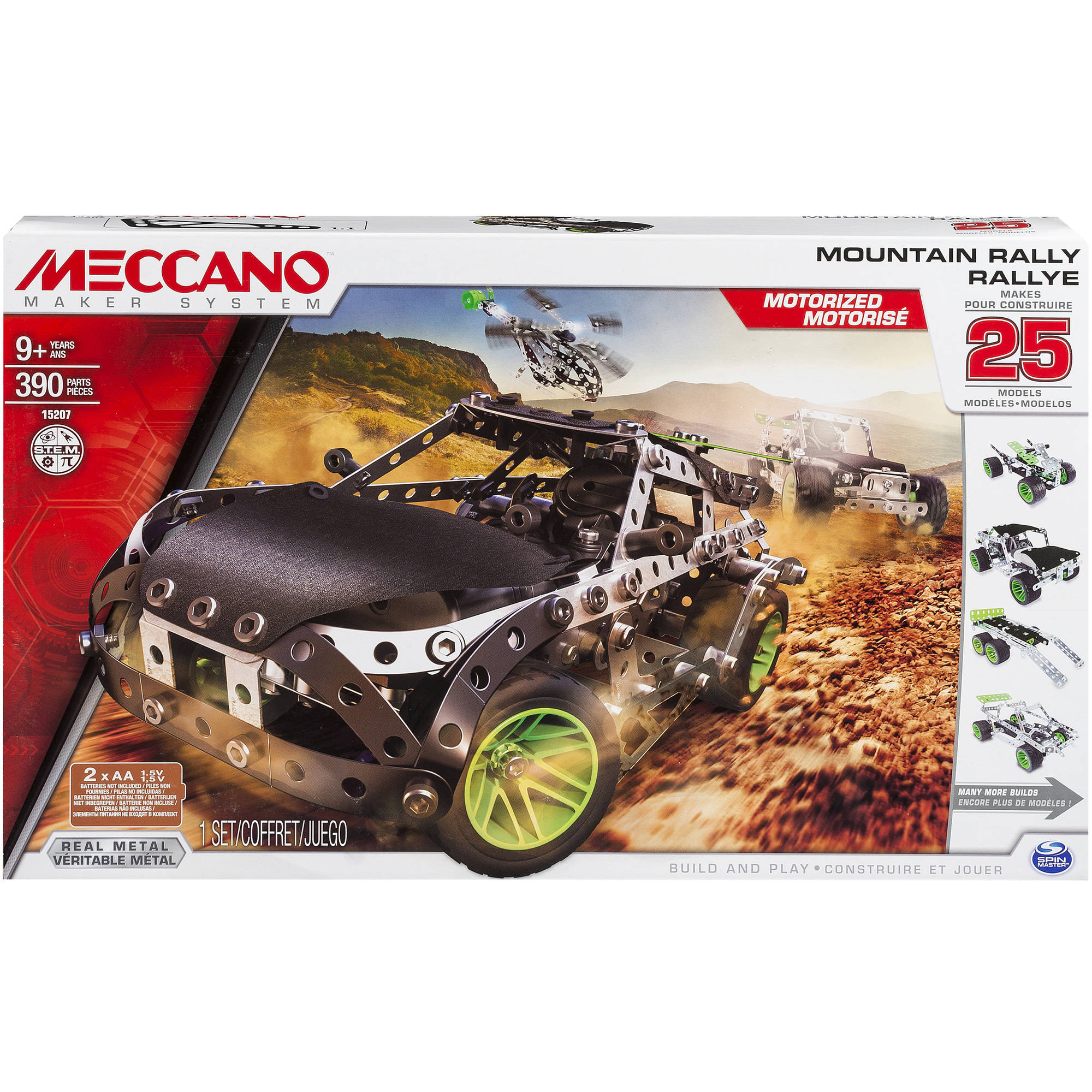 Meccano Mountain Rally, 25 Model Set