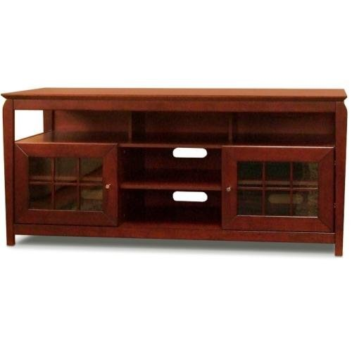 "Techcraft BAY6028 60"" Wide Av Stand Walnut"