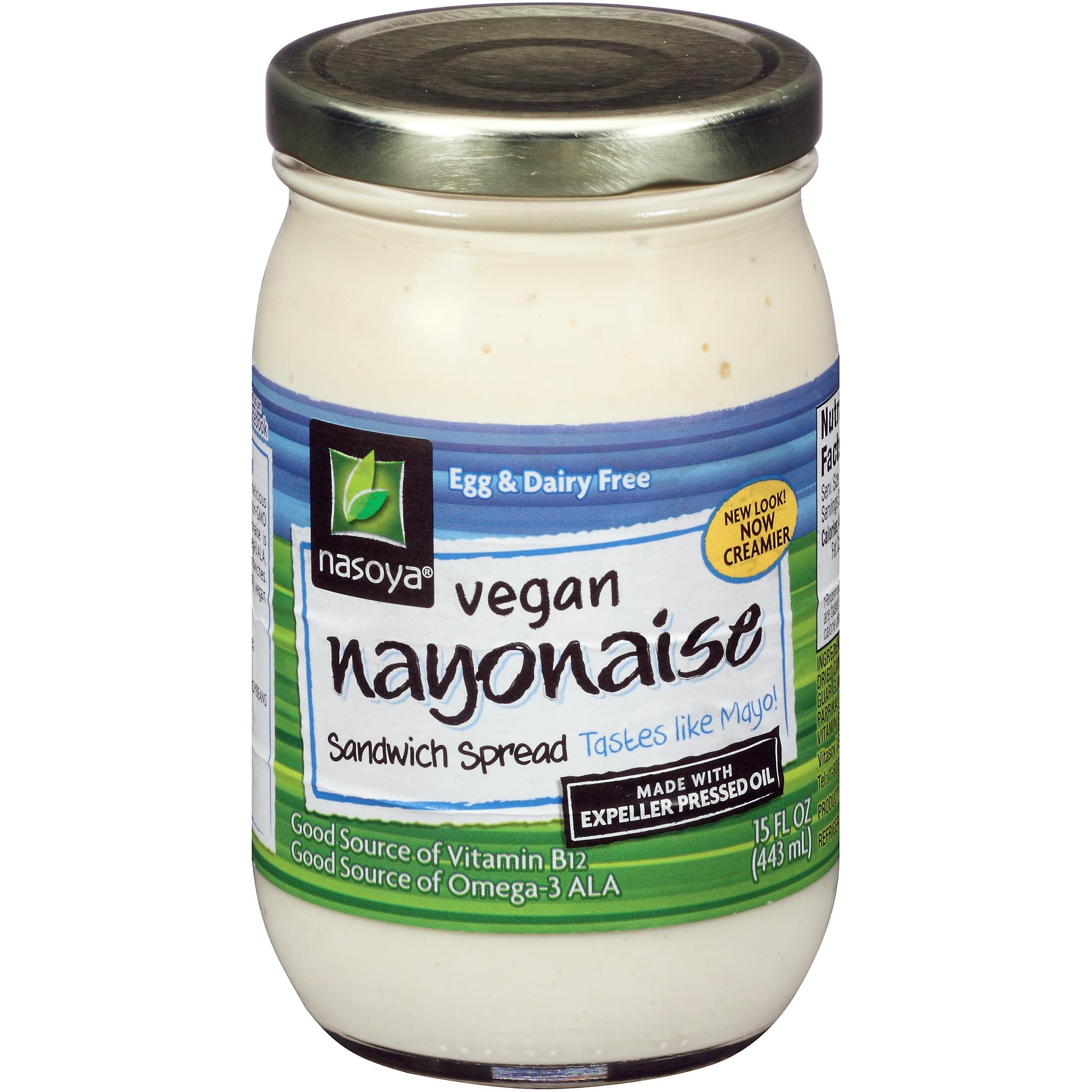 Nasoya® Vegan Nayonaise Sandwich Spread 15 fl. oz. Jar
