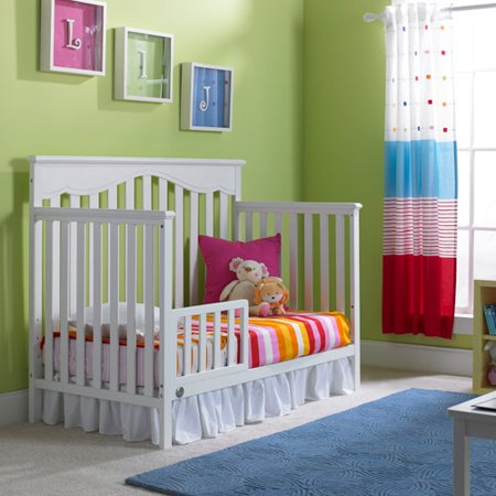 Fisher-Price Toddler Bed Rail (White)