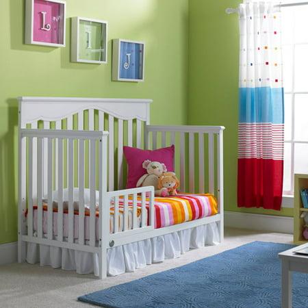 Fisher Price Newbury 4 In 1 Convertible Crib And Guardrail