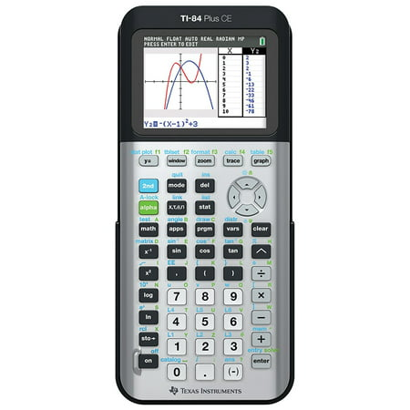 Texas Instruments TI-84 Plus CE Graphing Calculator, Space (Exercise 4 Weight Loss Points Plus Calculator)