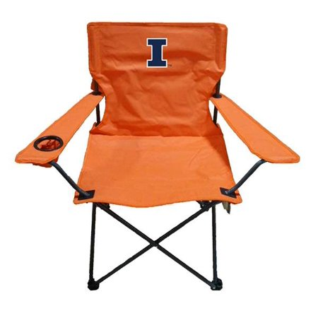 University of Illinois Fighting Illini Adult Chair -Tailgate Camping Illinois University Tailgate Mat