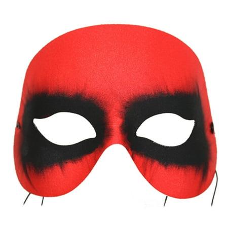 Red Diablo Dark Eyed Mask - Diablo Halloween