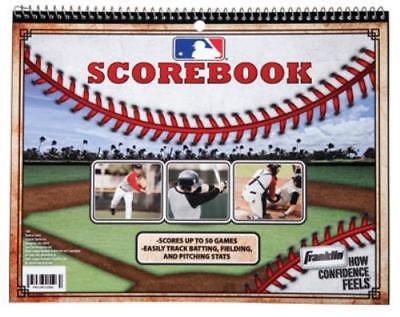 MLB Baseball Softball Scorebook Official 30 Game Combination Scorebook 2PK by