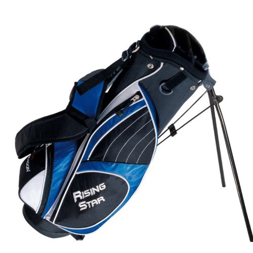 "Paragon Rising Star Junior Golf Stand Bag 31"" Blue"