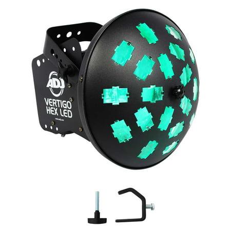 American DJ VERTIGO HEX LED 12 Watt 6-Color Dance Floor Effect Light+Clamp - Dance Floor Giveaways