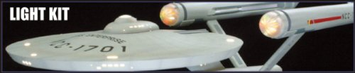 1 350 Star Trek USS Enterprise Light Kit by AMT/ERTL