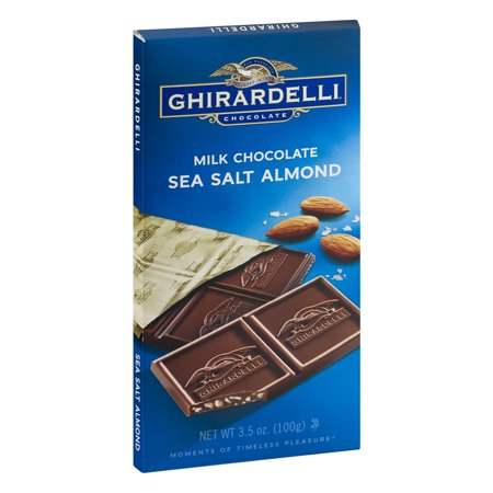 Milky Salt (Ghirardelli Sea Salt Almond Milk Chocolate, 3.5 Oz. )