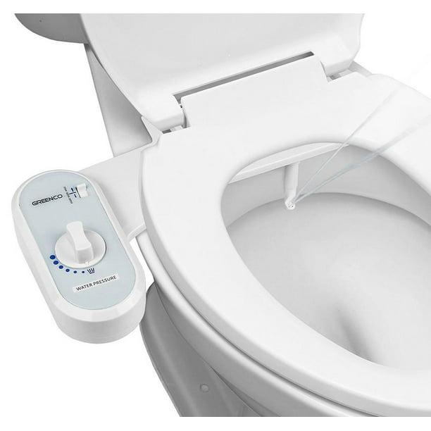 Greenco Bidet Fresh Water Spray Non Electric Mechanical Bidet Toilet Seat Attachment Walmart Com Walmart Com