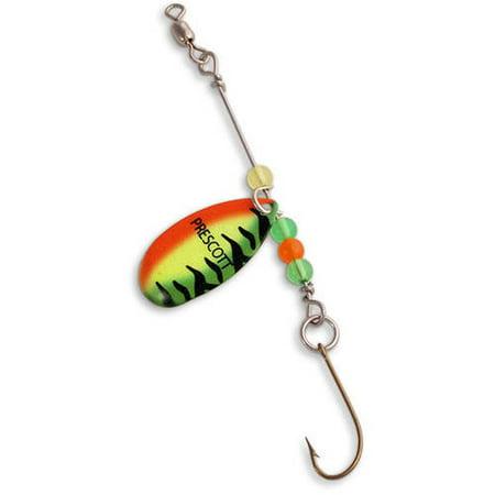 Prescott spinner pan fish rig series 4 leader 1 1 4 for Walmart fishing spinners