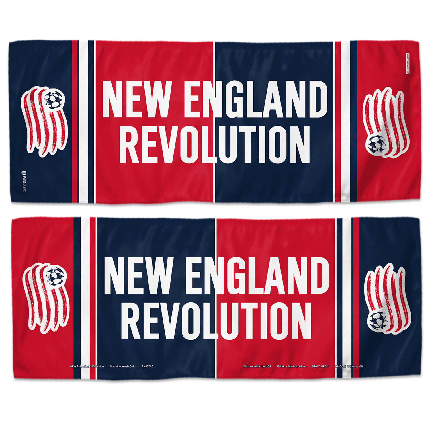 "New England Revolution WinCraft 12"" x 30"" Double-Sided Cooling Towel - No Size"