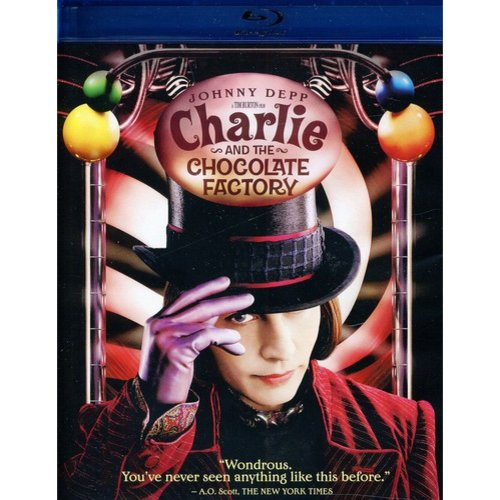 CHARLIE & THE CHOCOLATE FACTORY (BLU-RAY)