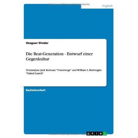 Die Beat-Generation - Entwurf Einer Gegenkultur - image 1 of 1