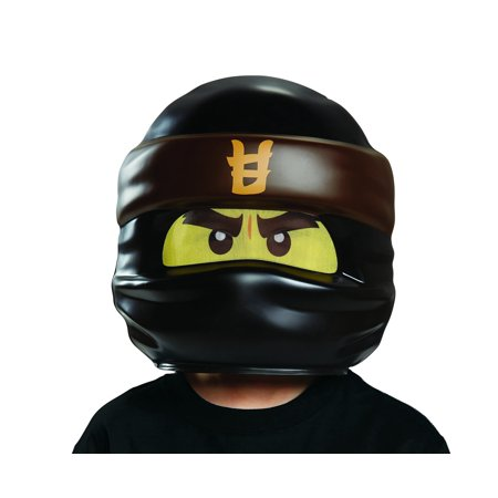 Disguise Lego Ninjago Movie Cole Mask Fits Ages 4+ (Smiley Movie Mask)