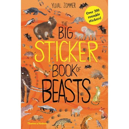 The Big Sticker Book of Beasts (Paperback) (Best Stickers)