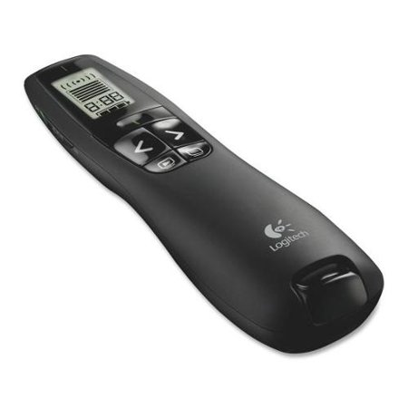 Logitech R800 Presentation Remote Control 100 ft Wireless by