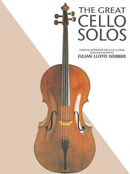 The Great Cello Solos by Chester Music