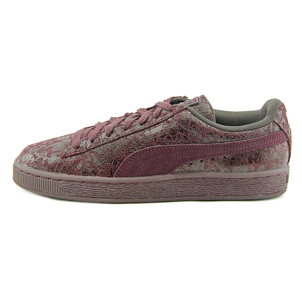 Puma Suede Remaster Women Round Toe Sneakers Shoes