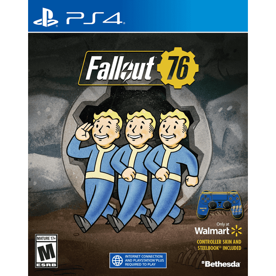 Fallout 76 Steelbook, Bethesda, Playstation 4, 00093155174344