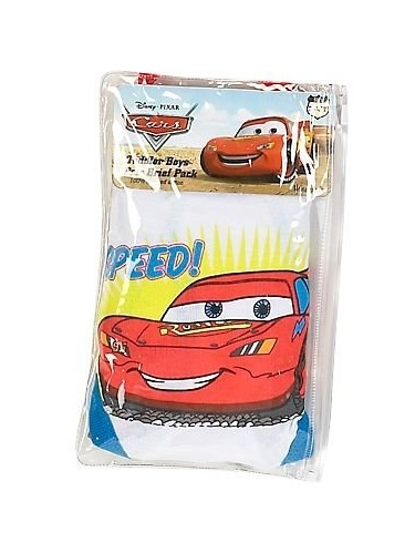 Disney Boys 2T-8 Cars Printed Brief - 3 Pack