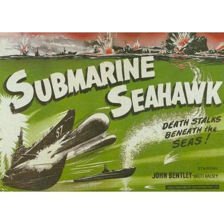 Submarine Seahawk - movie POSTER (Style B) (11