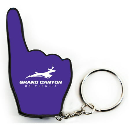 Grand Canyon University Lopes Tide #1 Fan Keychain