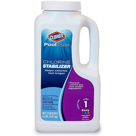 Clorox Pool And Spa Chlorine Stabilizer 4 Lbs