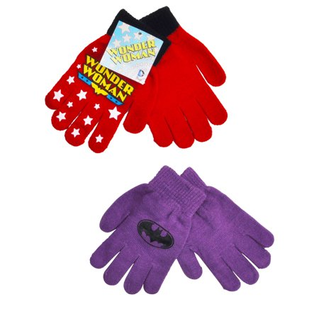 DC Superhero Girls Wonder Woman & Batgirl Gloves Mittens - Batgirl Backpack