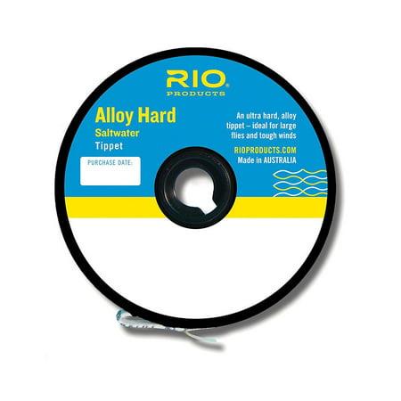 Rio Alloy Hard Saltwater Mono Tippet 16lb 8kg, RIO ALLOY - HARD SW MONO TIPPET - 16lb - Fly Fishing By Rio Brands Ship from