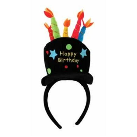 DDI 540198 Plush Birthday Cake Headband Case of 12