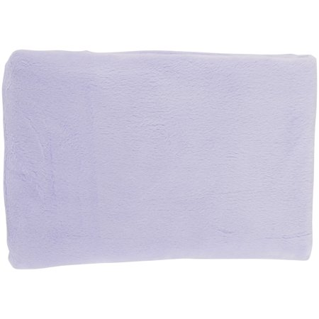 TL Care Heavenly Soft Chenille Fitted Cradle Sheet, Lavender, for Girls Heavenly Soft Cradle Sheet