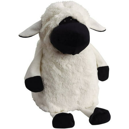 Doggles Milk Jug Pet Toy, White Sheep