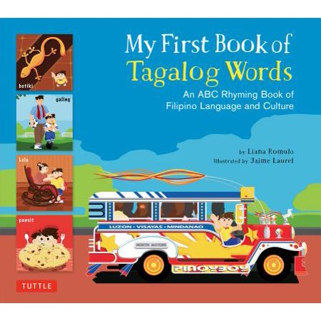 My First Book of Tagalog Words : An ABC Rhyming Book of Filipino Language and Culture](Halloween Rhyme Words)