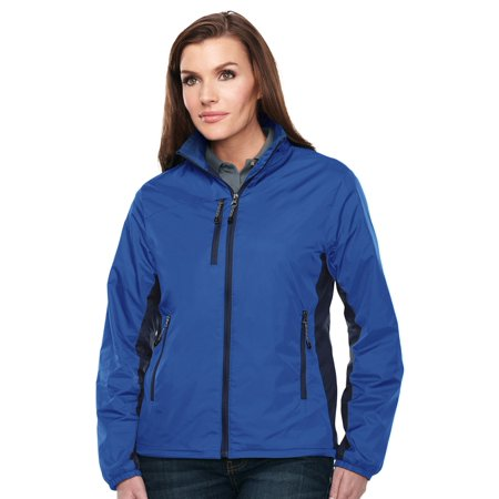 Womens Microfleece Full Zip Jacket - Tri-Mountain Women's Lightweight Full Zip Jacket