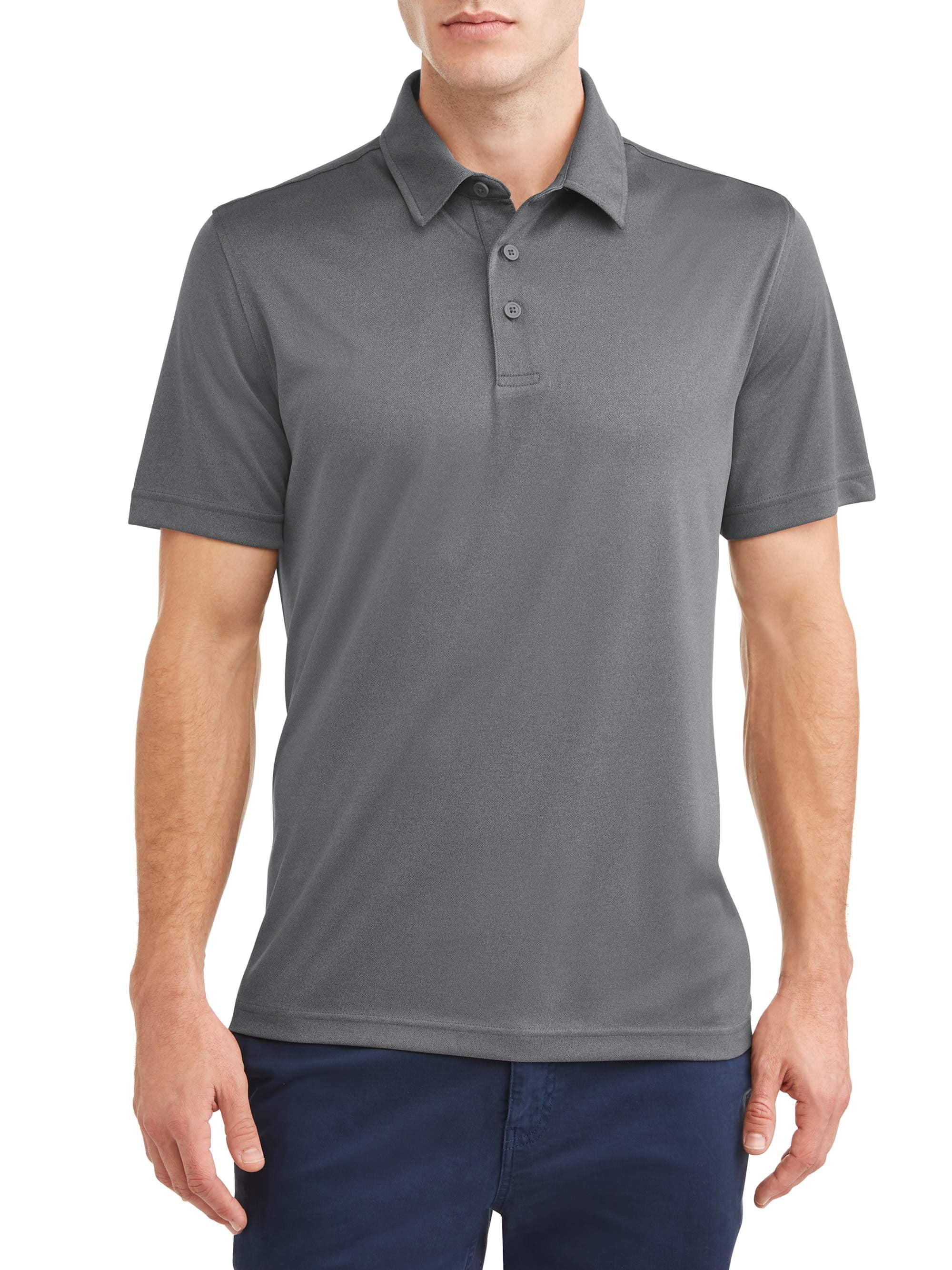 GEORGE - George Men's Polo Shirt - Walmart.com