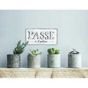 ADZif Blabla Passe   L'Action FR Wall Decal
