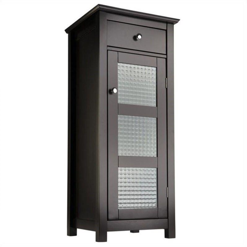 """Elegant Home Fashions Chesterfield 36"""" 1-Door Floor Cabin..."""